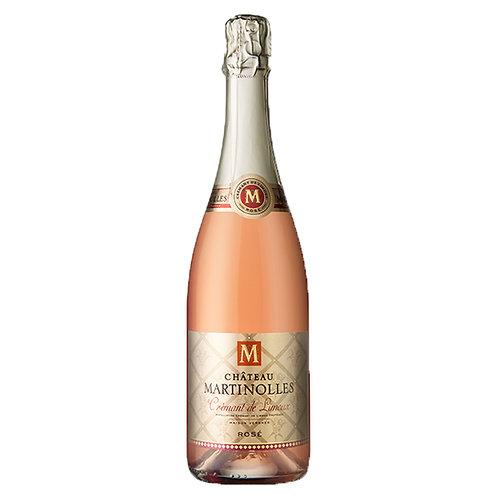 Château Martinolles - Crémant de Limoux Rosé - Case of 6 Bottles