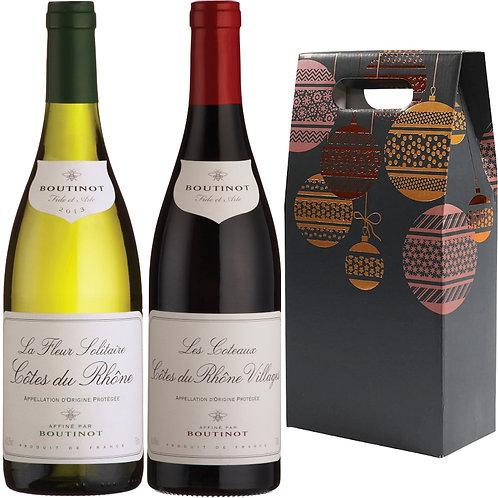 Côtes du Rhône Christmas Gift Duo