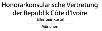 Konsulat Elfenbeinküste München Honorarkonsul Christopher Hahn