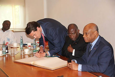 Botschafter Elfenbeinküste Léon Adom Kacou