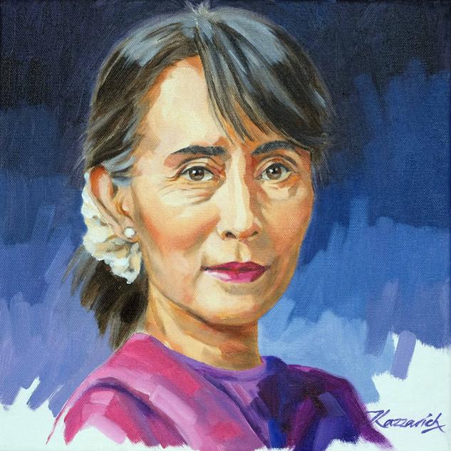 Aung San Suu Kyi 'Tenacity'