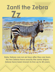 Zanti the Zebra