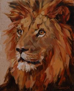 LION AP-274-15 36x29cm £210