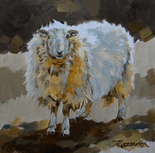 SHEEP-No4 AS-351-16 20x20cm £70