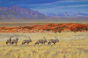 'Oryx Wolwedans Namibia'