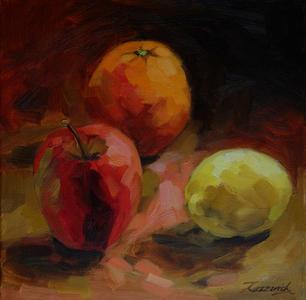 Apple Orange and Lemon No1