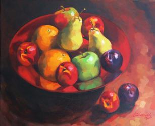 Red Fruit Bowl