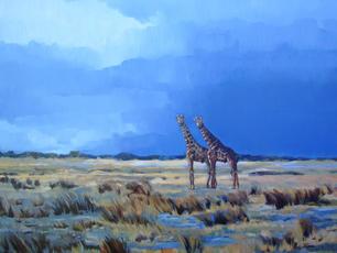 'Giraffe in Etosha Namibia'