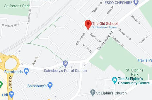 Map for The Old School.JPG