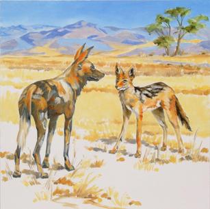 Joko the Jackal and African Wild Dog