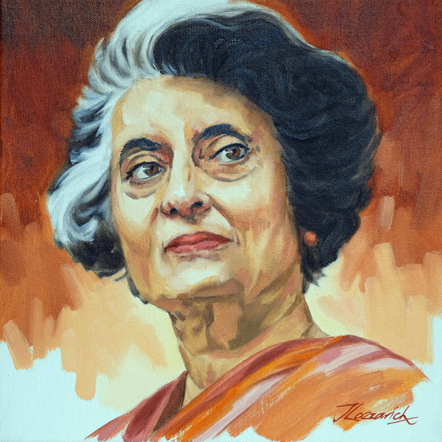 Indira Gandi 'Leader'