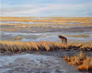Hyena in Etosha Pan Namibia