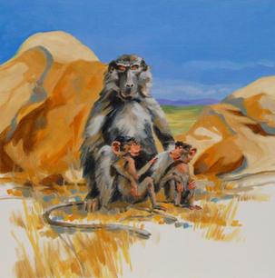 Bakuna the Baboon