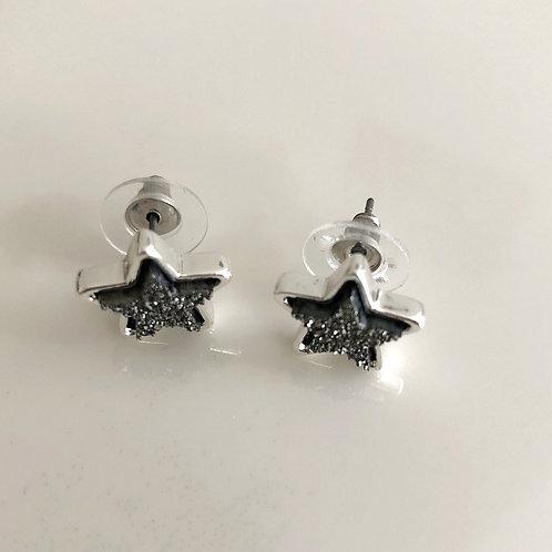 Star Lava Earrings