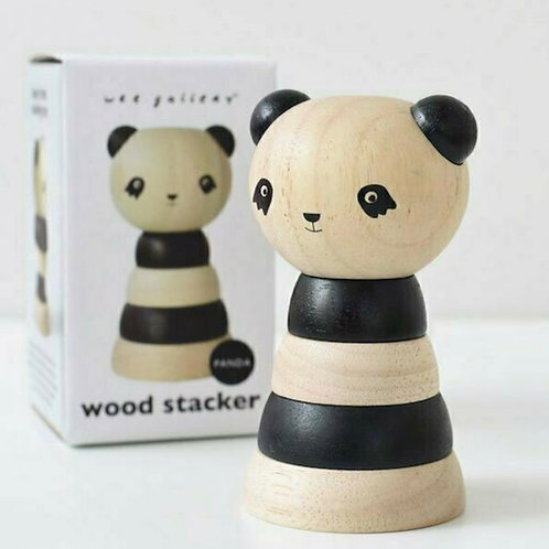 Wooden Stacker - Panda