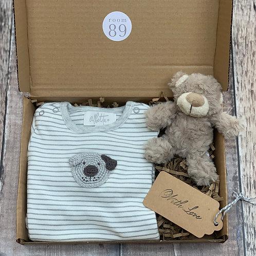 Hello Baby Dog Gift Box