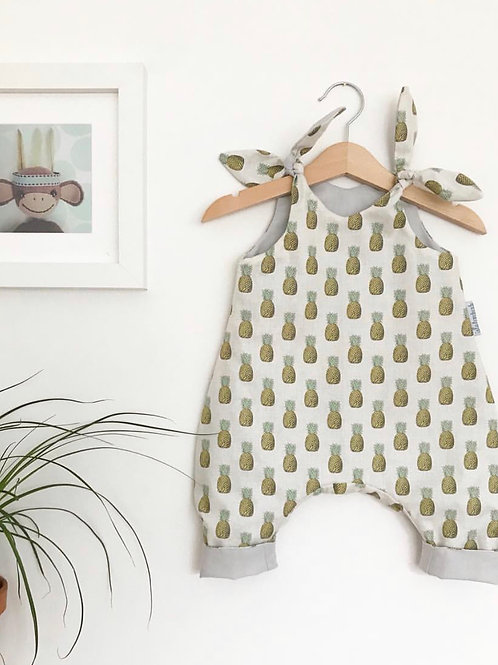 Handmade Romper - Pineapples