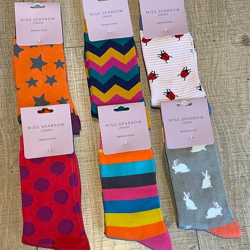 Miss Sparrow Bamboo Socks