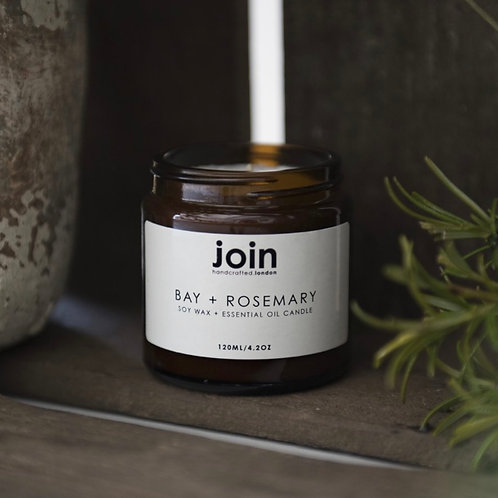 Join Candle - Bay & Rosemary