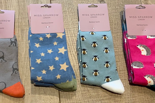 Miss Sparrow Bamboo Mix Socks