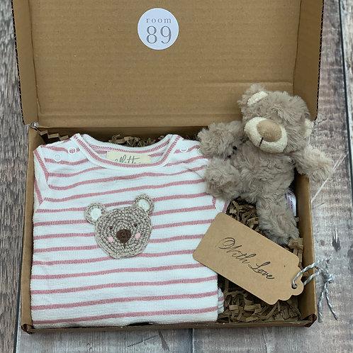 Hello Baby Bear Gift Box