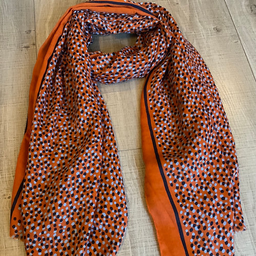 Mid Weight Dotty Scarf