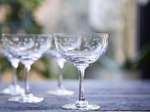 A Pair of Champagne Saucers