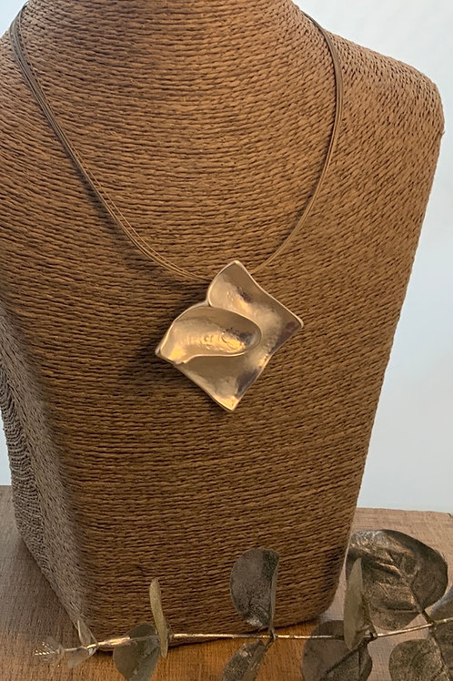 Abstract Square Necklace