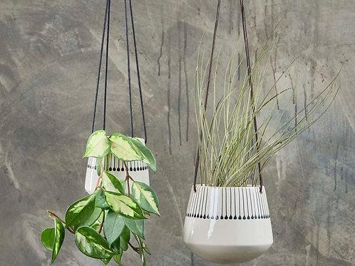 Matamba Ceramic Hanging Planter