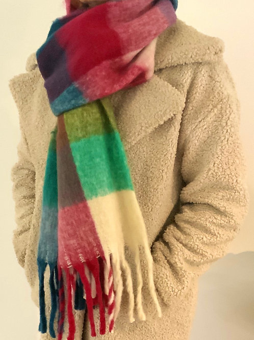 Loads of Colour Chunky Scarf