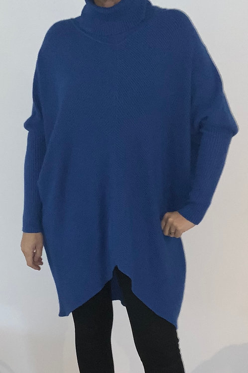 The Oversized Polo Jumper