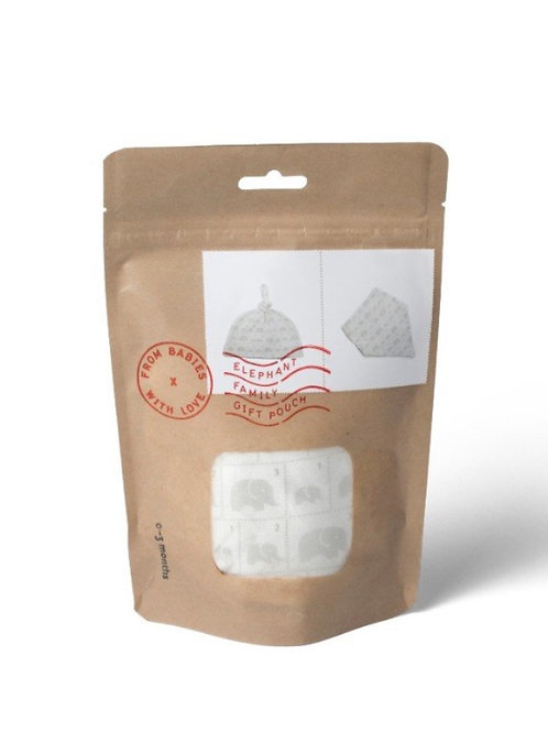 Elephant Family Gift Pouch