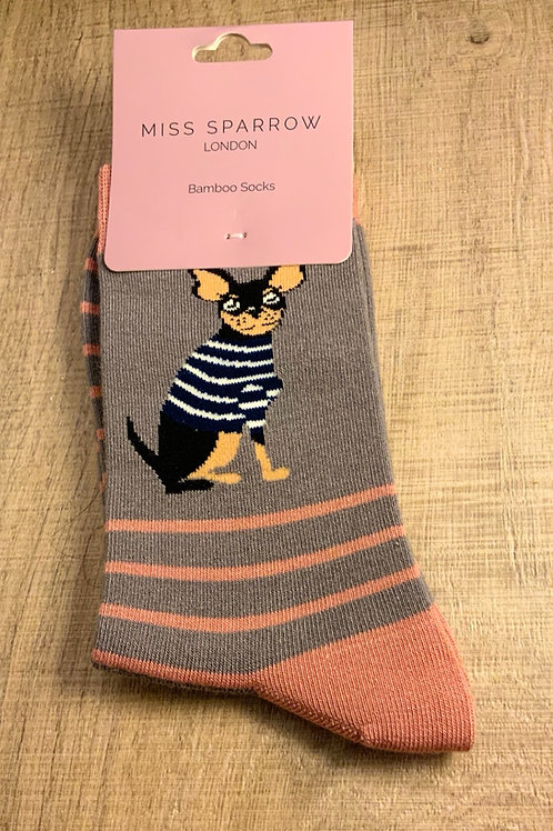 Chihuahua Bamboo Socks