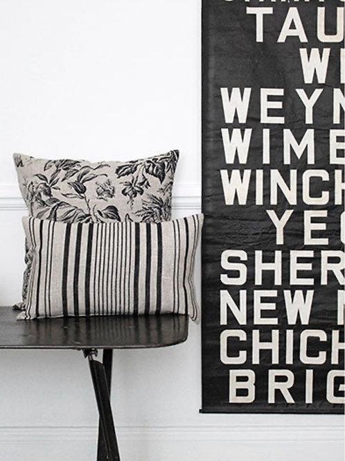 Stanley Stripe Linen Cushion