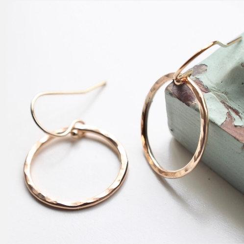 Simples Ring Earrings