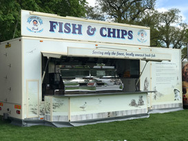 Fish and Chips @ Badminton Horse Trials