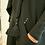 Thumbnail: Black Tassel Scarf Jumper