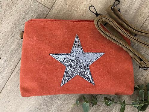 Star Cross-Body Bag/Clutch