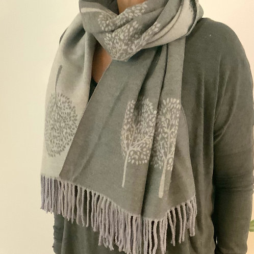 Mulberry Scarf Cashmere Feel