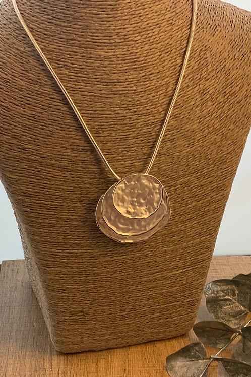 Three Layer Circle Necklace