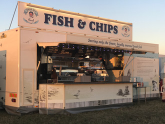 Fish and Chips @ Gloucester Steam Festival 2018