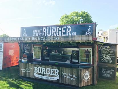 Market Street Burger @ Badminton Horse Trials