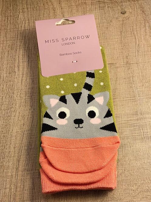 Meow Bamboo Socks
