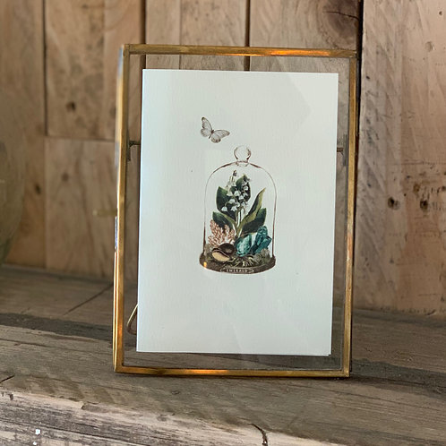 Simple Brass Danta Picture Frame