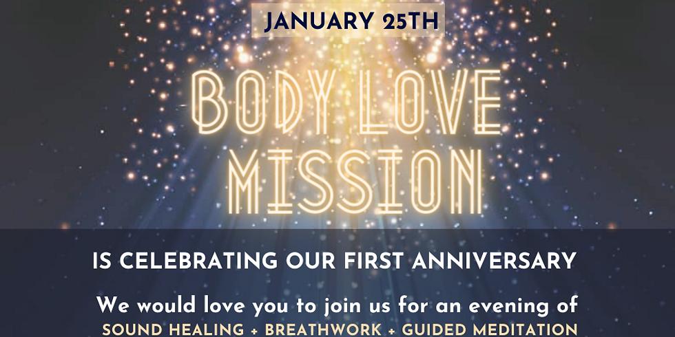 Body Love Mission Anniversary