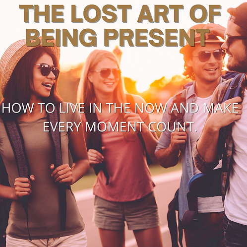 The Lost Setof Being Present