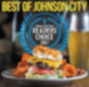 We are Johnson CityPRess Readers Choice for best family style meal