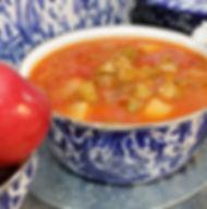 Fresh made vegetable soup