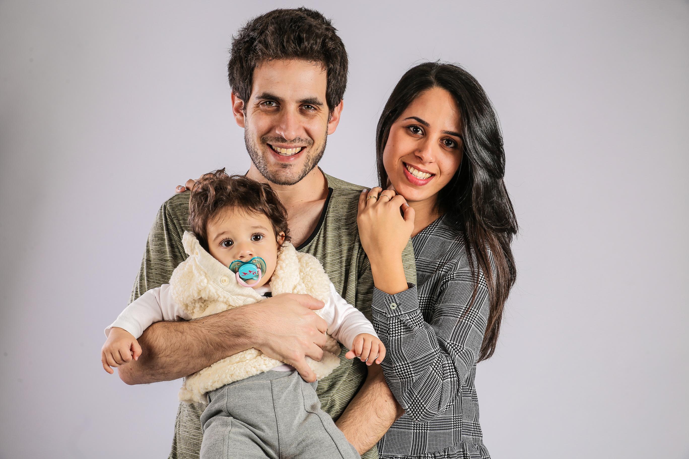 צילומי משפחה בסטודיו