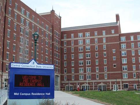 CCSU Mid Campus Residence Hall